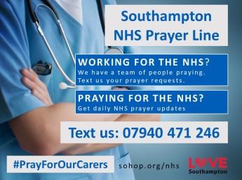 NHS Prayer Line